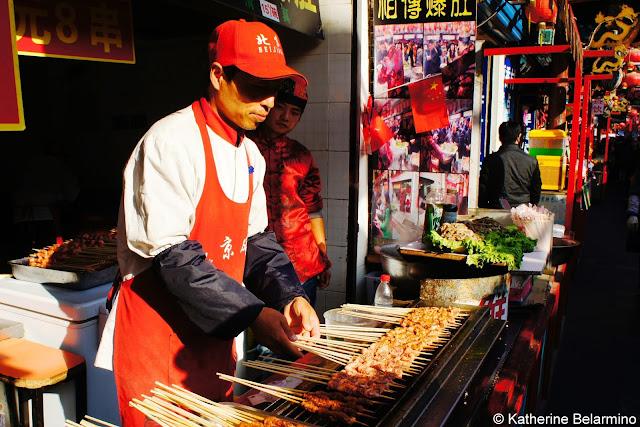 Wanfujing Snack Street Skewers Beijing China