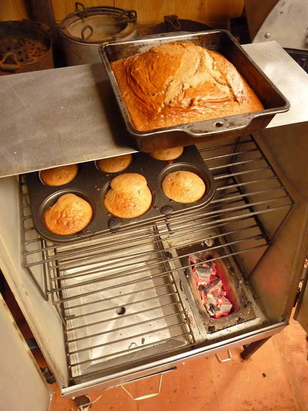 how to make a charcoal oven