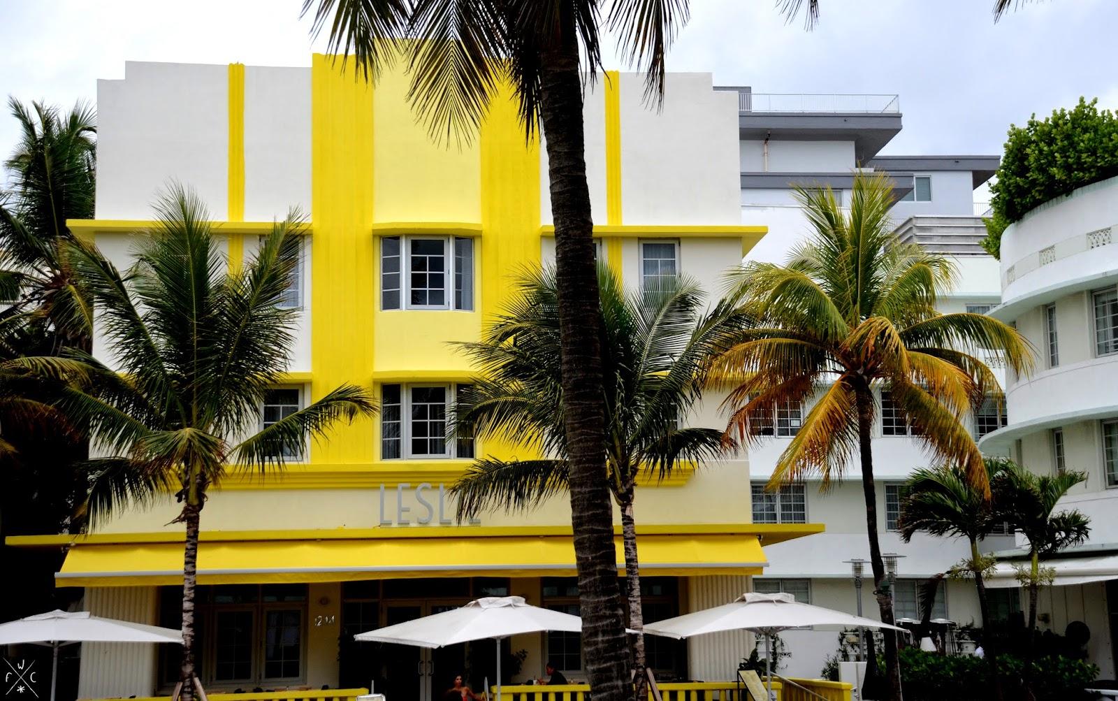 Leslie - Miami Beach, Floride, USA - Art Déco