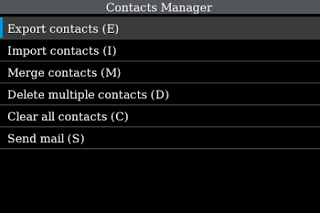 Contacts Manager v1.1.6