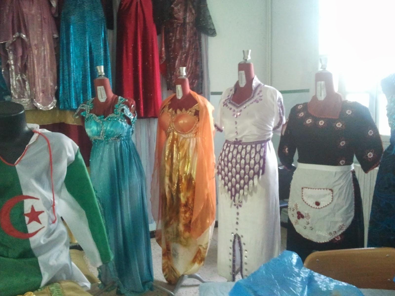 مجموعة موديلات قنادر للدار والاعراس من المعرض الجزائري 2016  قنادر جزائرية اون لاين