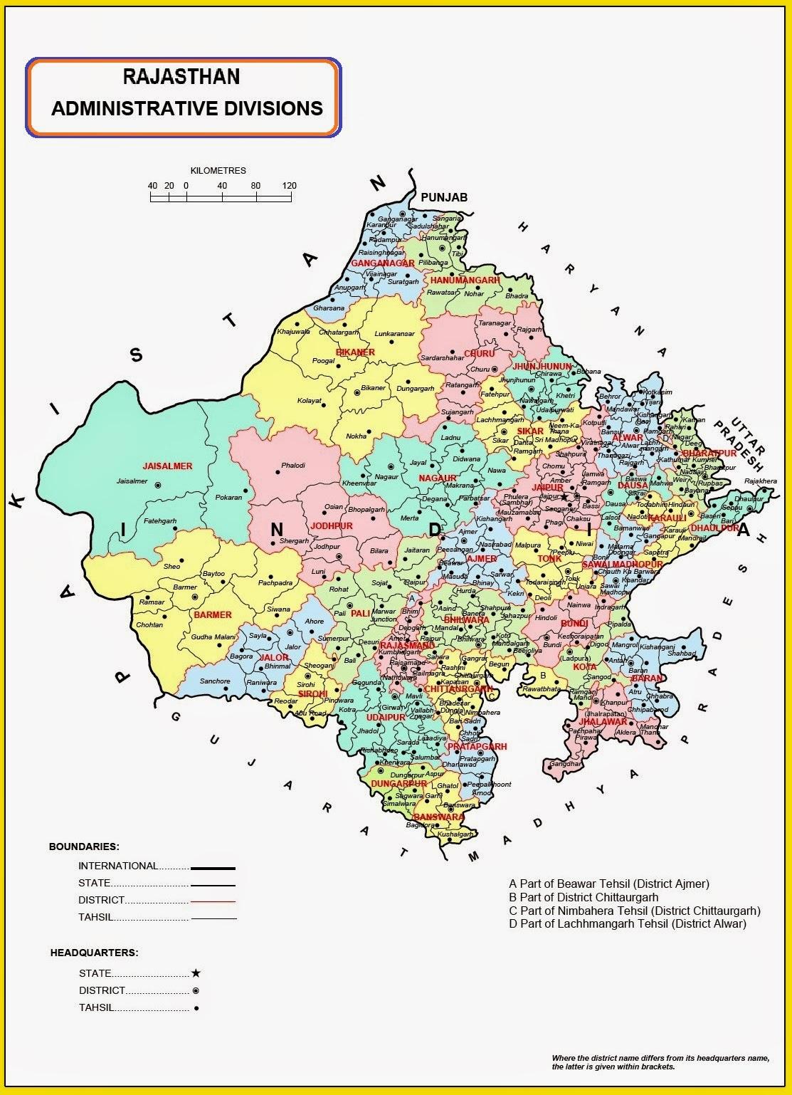 Rajasthan: Geography - Jagranjosh.com