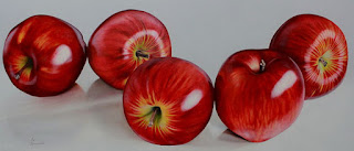 Dibujos Bodegones Manzanas
