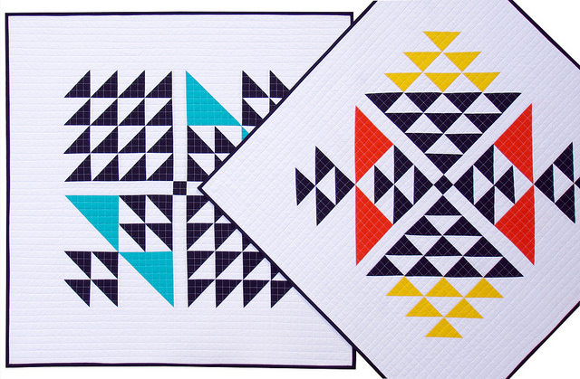 Big Block Baby Quilts ~ Kona Cotton | Red Pepper Quilts 2016