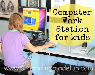 Set up a computer station