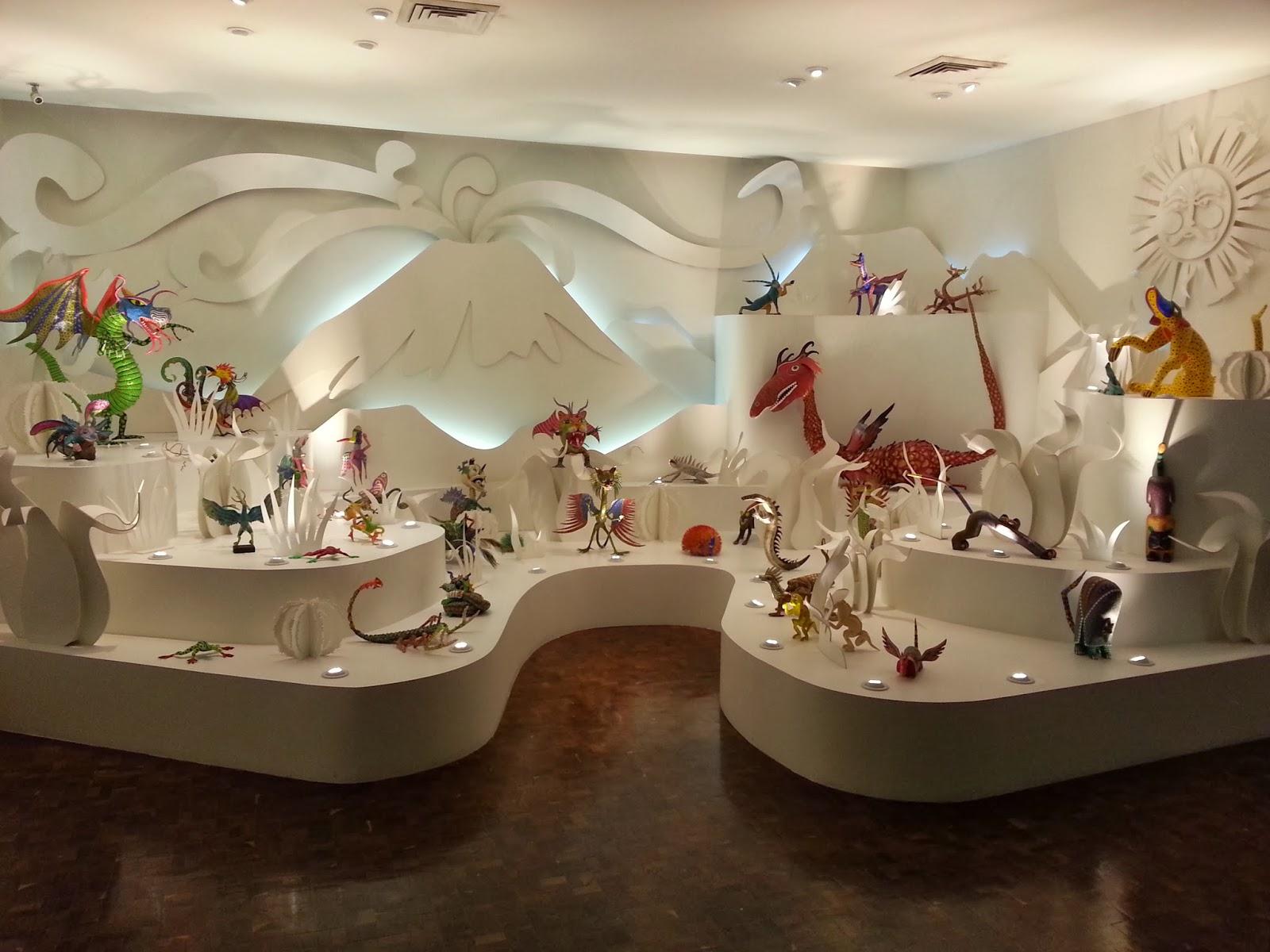 Museo de Arte Popular: Salas de exposición permanente ~ El Pensador ...
