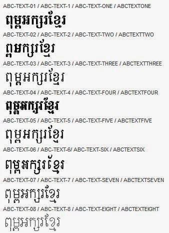 Khmer Font Unicode For Mac
