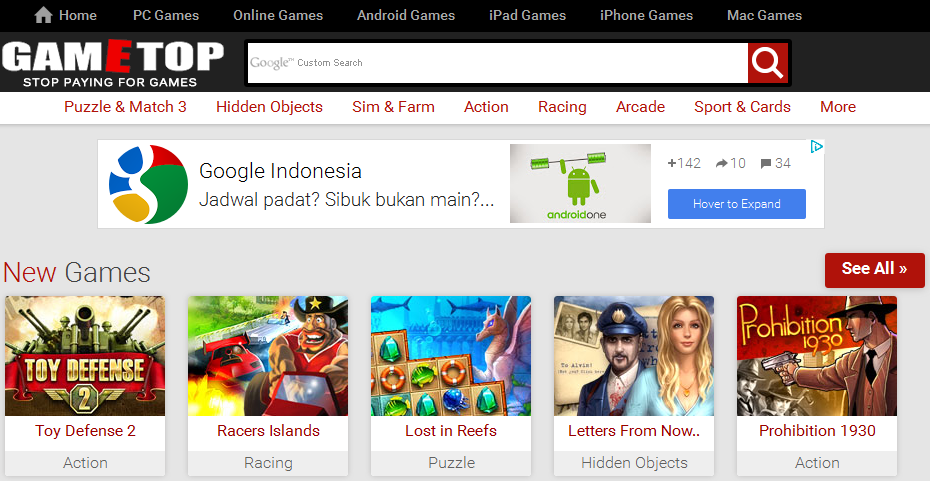 Situs Layanan Download Game Gratis