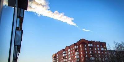 Heboh, Meteor Jatuh di Rusia