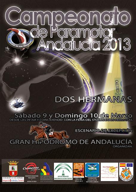 campeonato colgado digital Campeonato de Andalucia de Paramotor 2013