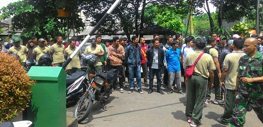 Kodim 0506/Tgr Kerahkan 2600 Personil Nonton Piala Jendral Sudirman Cup