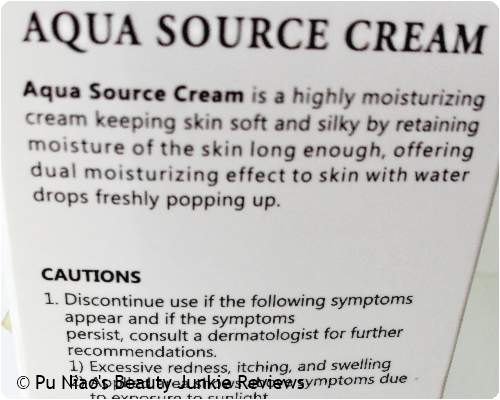 LUS Aqua Source Cream