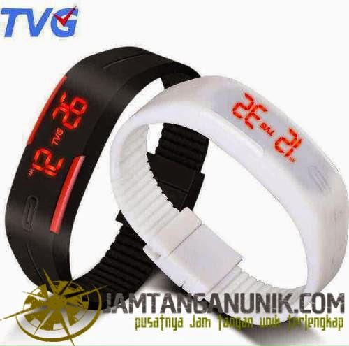 tvg sport jam tangan model gelang