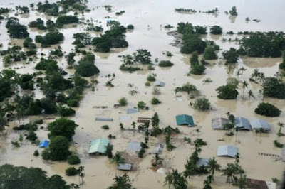 inundaciones Myanmar