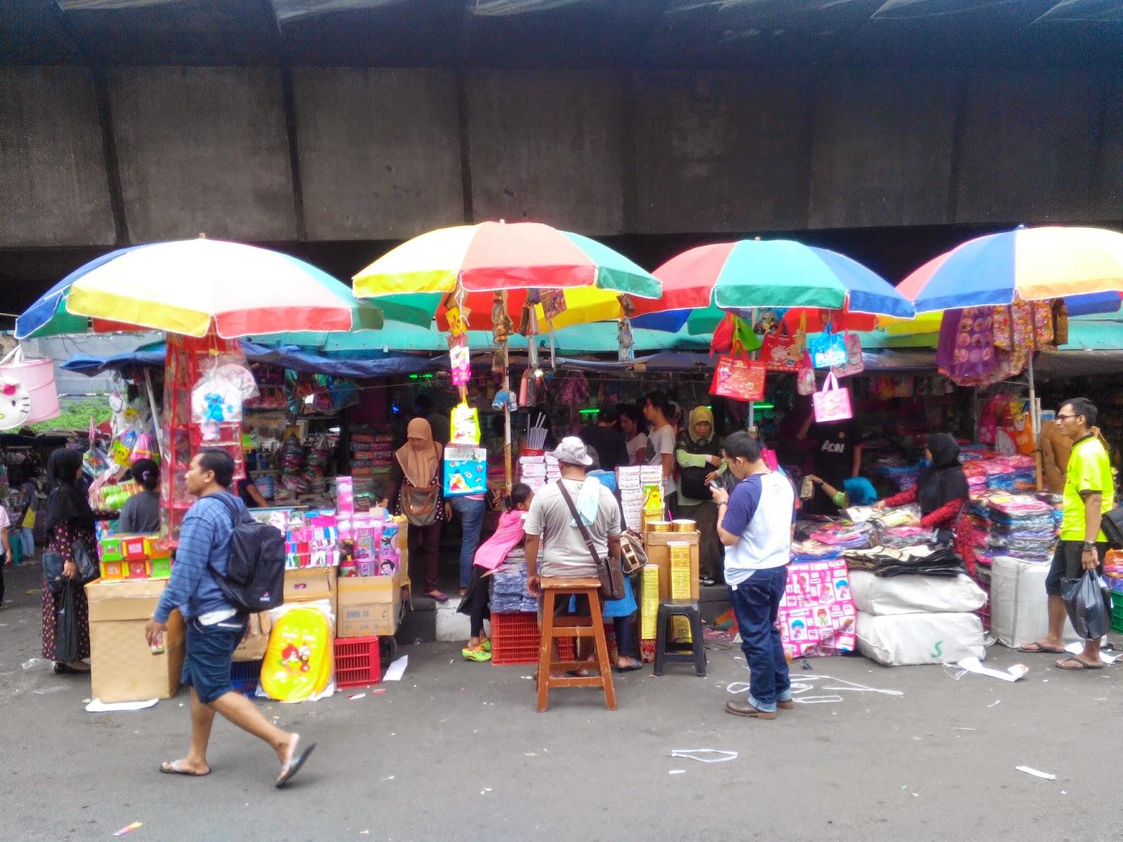 Image result for pasar pagi asemka