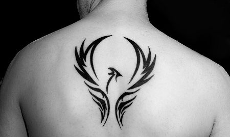 Meija Samarae Tatuajes+tribal+espalda