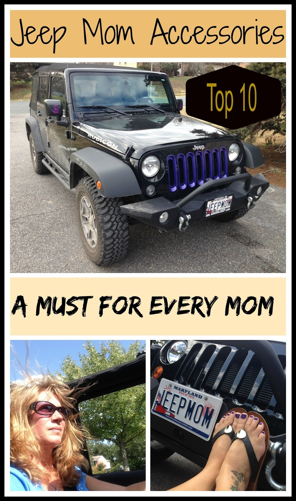 Top 10 Jeep Wrangler Unlimited Things For Mom Jeep Owners