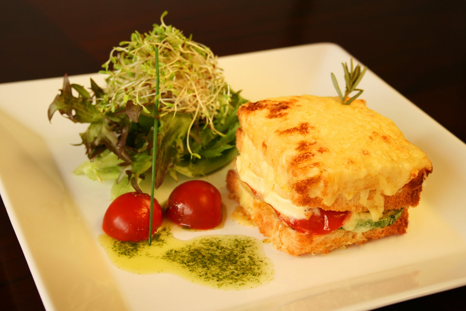 Croque monsieur for Comidas francesas
