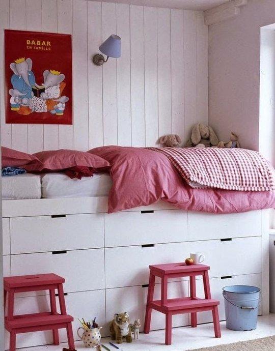 die wohngalerie stauraum unterm bett kreative l sungen. Black Bedroom Furniture Sets. Home Design Ideas