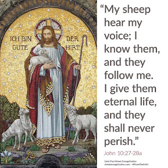Jesus showed us an example how to be of a Good Shepherd