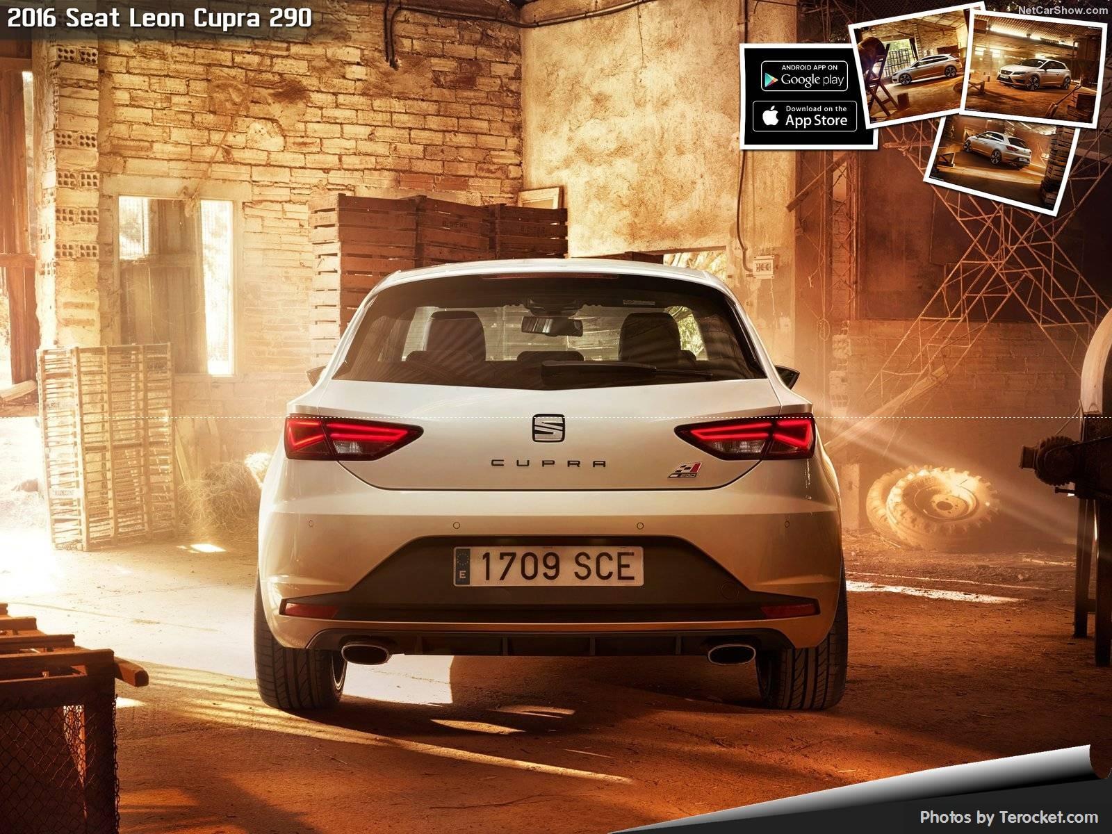 Hình ảnh xe ô tô Seat Leon Cupra 290 2016 & nội ngoại thất