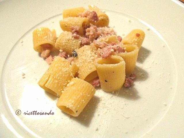 gricia ricetta tradizionale