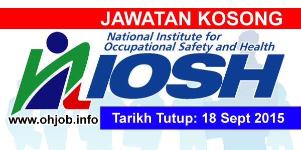 Jawatan Kerja Kosong National Institute of Occupational Safety and Health (NIOSH) logo www.ohjob.info september 2015