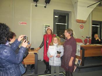 La Poetessa Sofia M. F. LONGO 1° Premio Oscar Scuole!