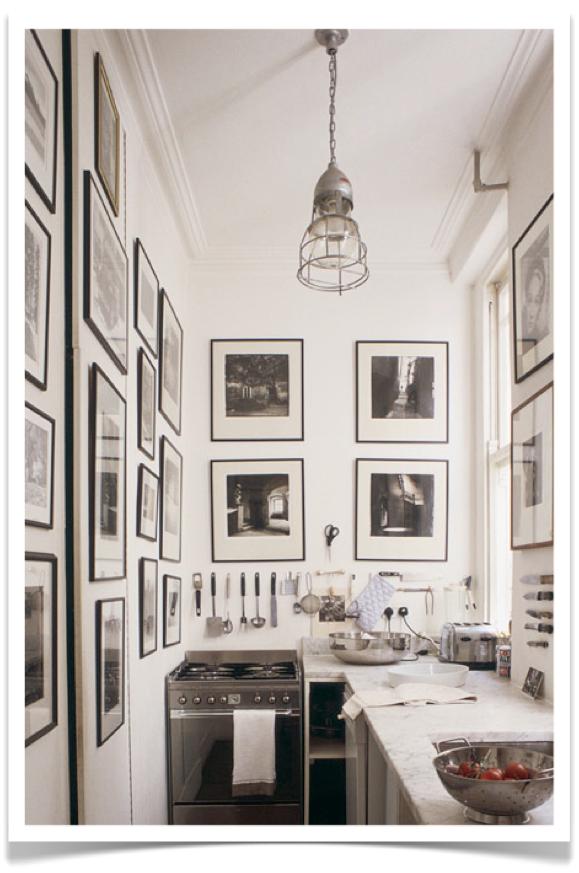 4bildcasa come far vivere una parete e decorare un angolo della propria casa - Decorare parete cucina ...