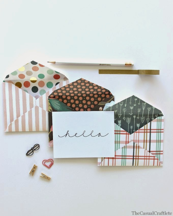 Make Your Own Paper Envelopes