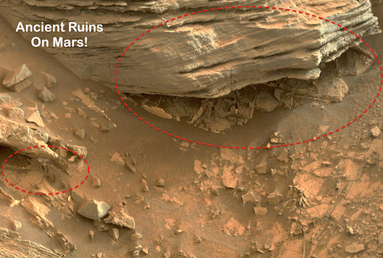 Mars: Surface ruins in Gale crater HD 2013 - YouTube