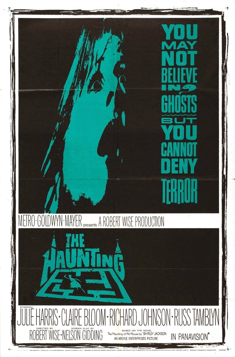 A Vintage Nerd, Classic Film Blog, Classic Haunted House Movies, Vintage Blog, The Haunting