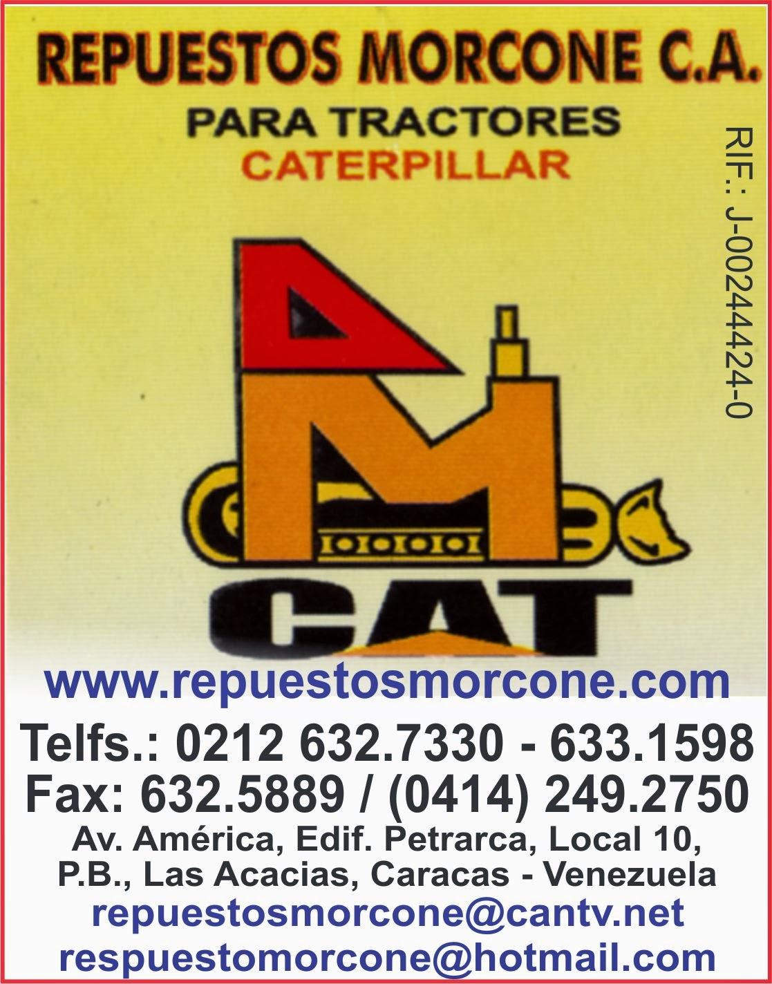 REPUESTOS MORCONE, C.A. en Paginas Amarillas tu guia Comercial