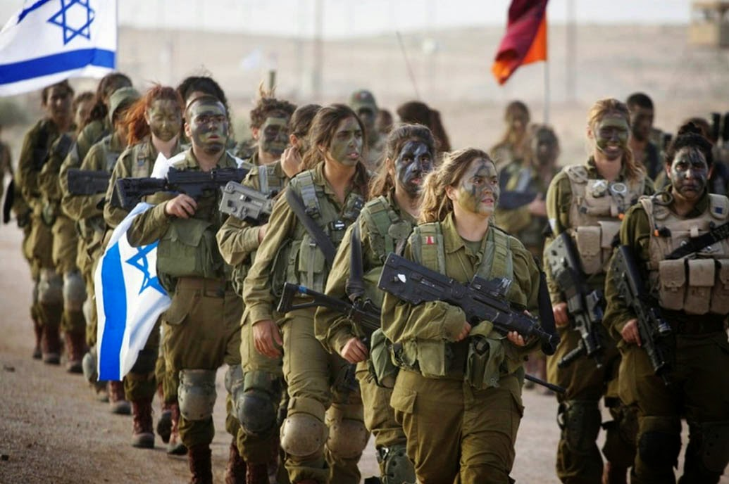 Tentara Cantik Israel yang Ikut Berperang