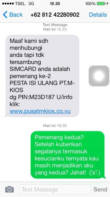 sms penipuan dengan respon yang lucu dan kocak-11