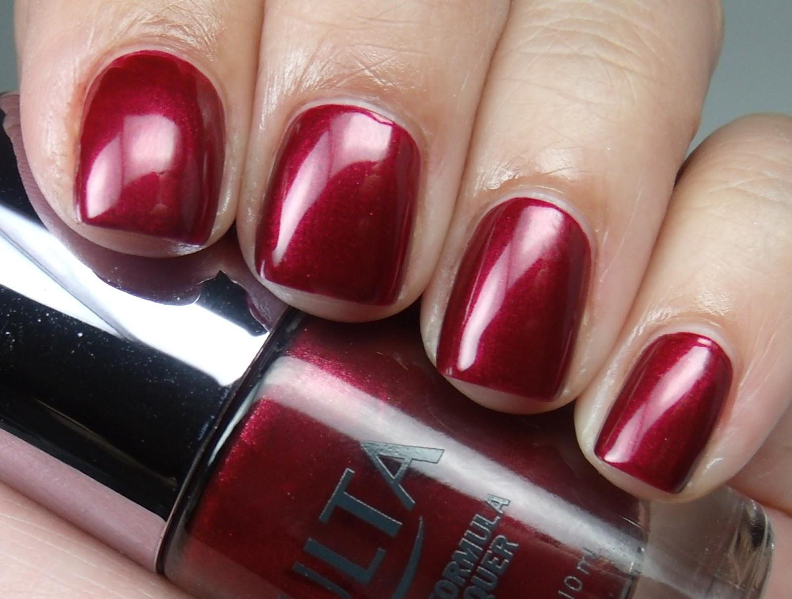 Colores de Carol: ULTA - Ruby Slippers