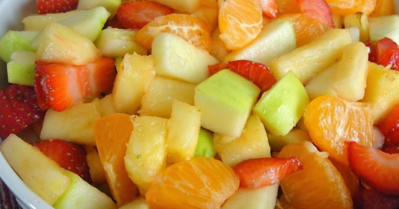 Healthy Family Cookin': Winter Honey-Lime Fruit Salad