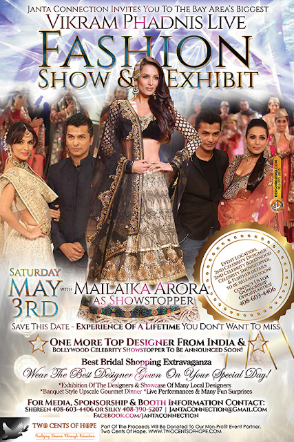 Vikram Phadnis Fashion Show & Exhibit Flyer Design