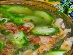 Sup oyong kembang tahu