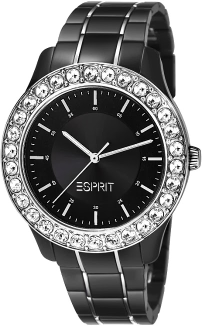 Esprit Timewear Blushes Black Watch: Price INR 8,495