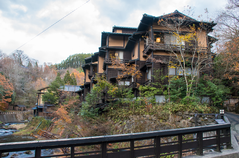 Kurosawa old onsen town