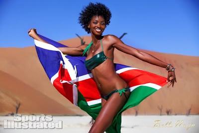STORIES WALL LIFESTYLE - Black Girl Sports Illustrated Adaora Akubilo
