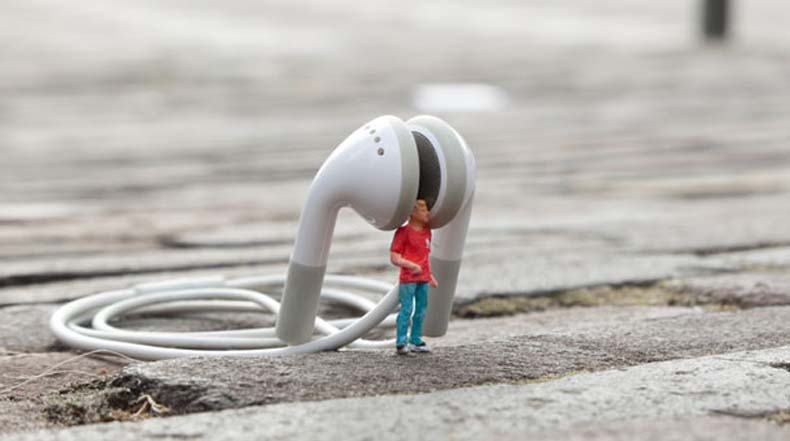 Gente Pequeña Por Slinkachu