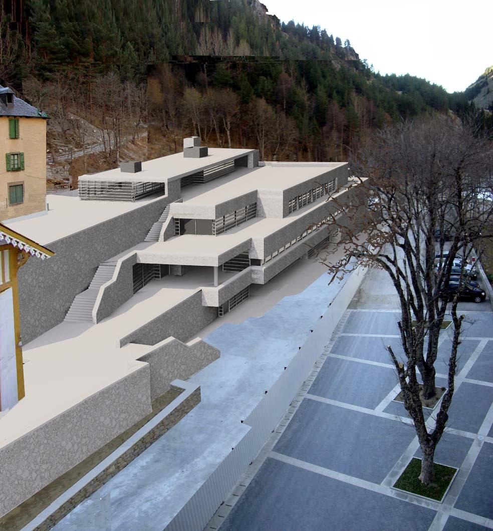 Sixto marin gavin arquitecto colaboraciones - Arquitectos huesca ...