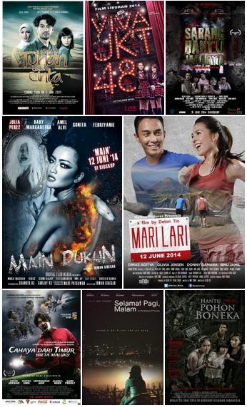 Daftar Film Bioskop Indonesia Juni 2014
