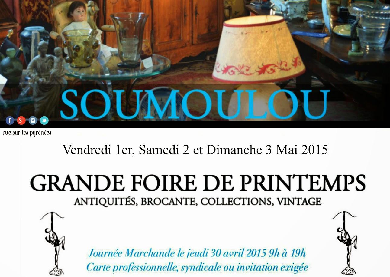 68eme Foire aux antiquités 2015 à Soumoulou