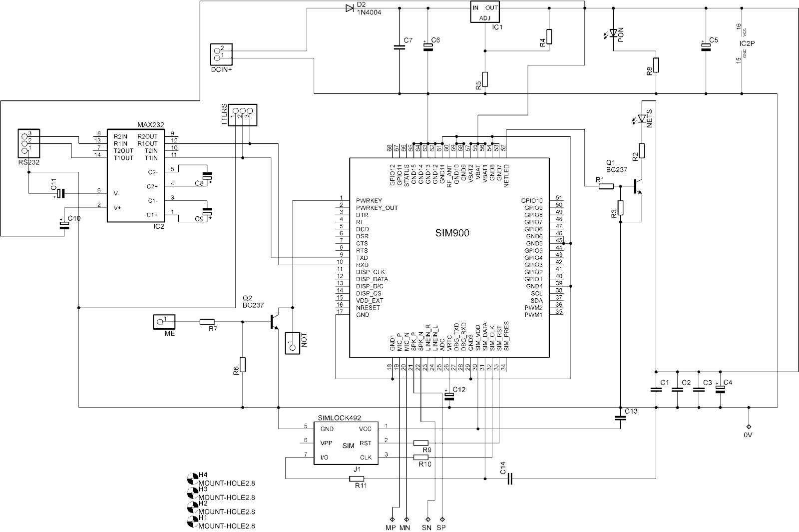 Circuit Diagram Kit Wiring Library 60 Amp Modification For The Scc3e1 12 Volt Solar Charge Controller Gsm