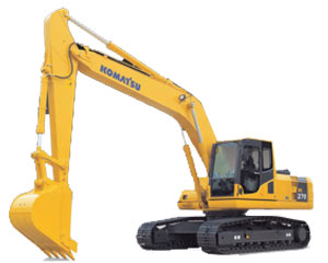 Komatsu Excavators PC270-8