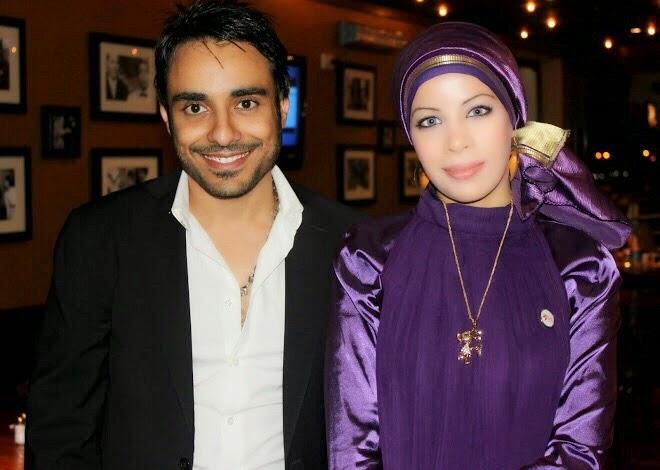 مع المطرب إسلام عام 2010