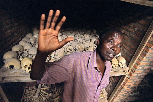 Il genocidio del Ruanda. Foto di Livio Senigalliesi